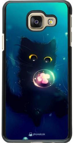 Coque Samsung Galaxy A3 (2016) - Cute Cat Bubble