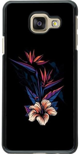 Coque Samsung Galaxy A3 (2016) - Dark Flowers