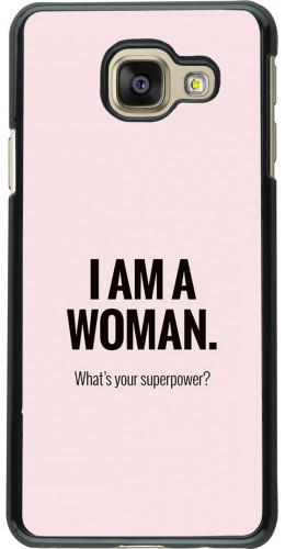 Coque Samsung Galaxy A3 (2016) - I am a woman