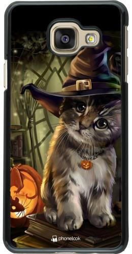 Coque Samsung Galaxy A3 (2016) - Halloween 21 Witch cat