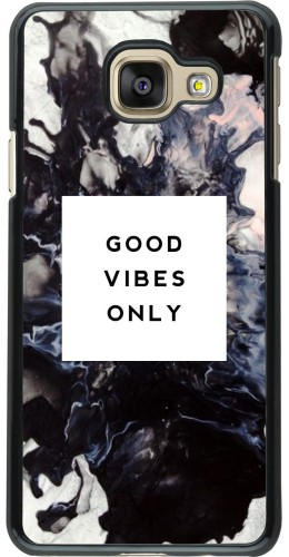 Coque Galaxy A3 (2016) -  Marble Good Vibes Only