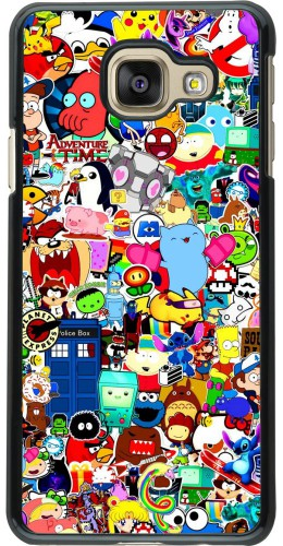 Coque Samsung Galaxy A3 (2016) - Mixed cartoons