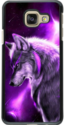 Coque Samsung Galaxy A3 (2016) - Purple Sky Wolf