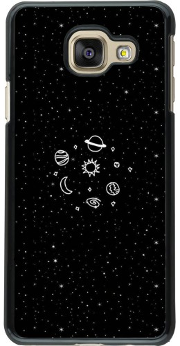 Coque Galaxy A3 (2016) - Space Doodle