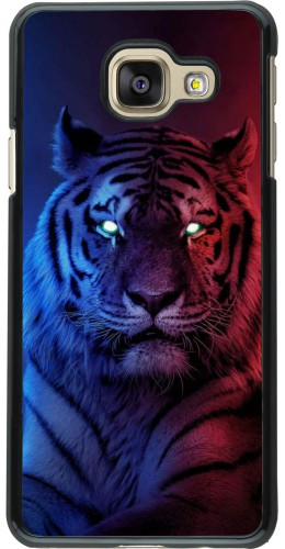 Coque Samsung Galaxy A3 (2016) - Tiger Blue Red