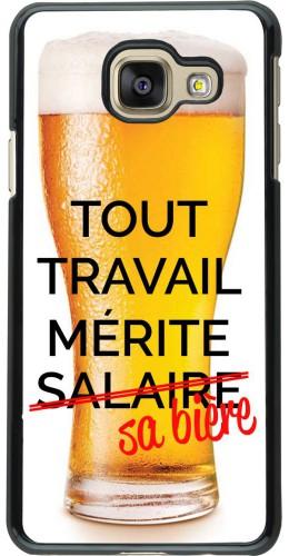 Coque Samsung Galaxy A3 (2016) - Tout travail mérite sa bière