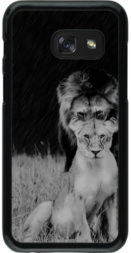 Coque Samsung Galaxy A3 (2017) - Angry lions
