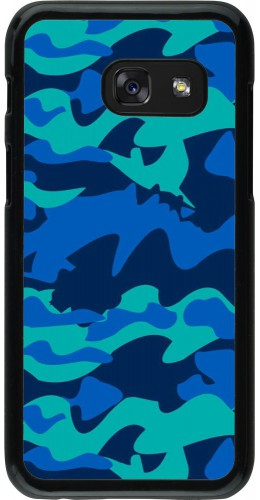 Coque Samsung Galaxy A3 (2017) - Camo Blue
