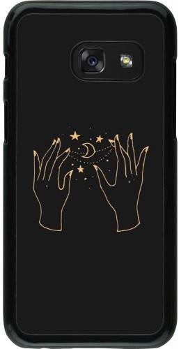 Coque Samsung Galaxy A3 (2017) - Grey magic hands