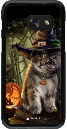 Coque Samsung Galaxy A3 (2017) - Halloween 21 Witch cat