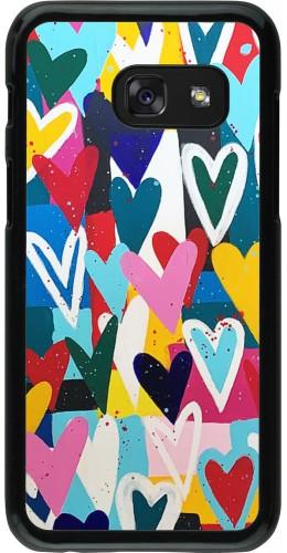 Coque Samsung Galaxy A3 (2017) - Joyful Hearts
