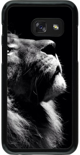 Coque Galaxy A3 (2017) - Lion looking up