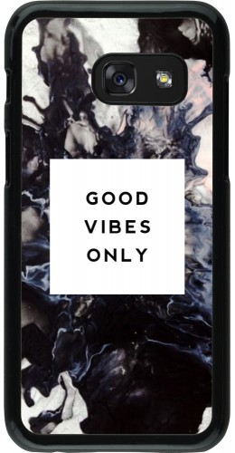 Coque Galaxy A3 (2017) - Marble Good Vibes Only