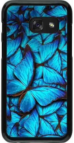 Coque Galaxy A3 (2017) - Papillon bleu