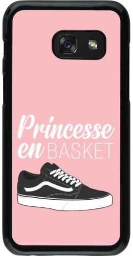 Coque Samsung Galaxy A3 (2017) - princesse en basket