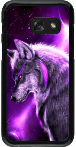 Coque Samsung Galaxy A3 (2017) - Purple Sky Wolf