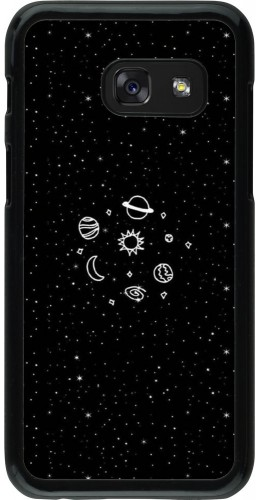 Coque Galaxy A3 (2017) - Space Doodle