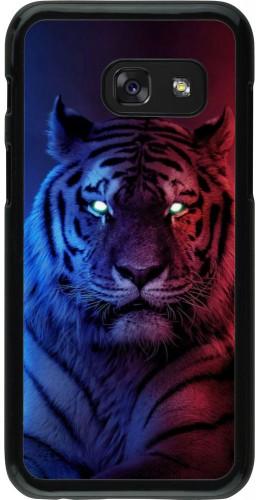 Coque Samsung Galaxy A3 (2017) - Tiger Blue Red