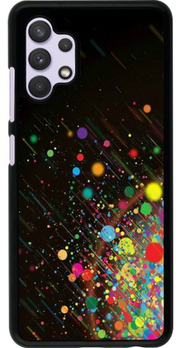 Coque Samsung Galaxy A32 - Abstract Bubble Lines