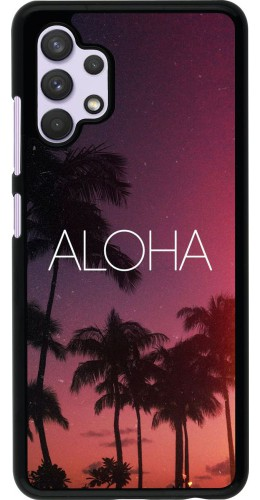 Coque Samsung Galaxy A32 - Aloha Sunset Palms