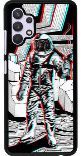 Coque Samsung Galaxy A32 - Anaglyph Astronaut