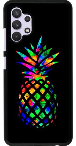Coque Samsung Galaxy A32 - Ananas Multi-colors