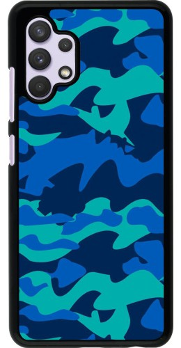 Coque Samsung Galaxy A32 - Camo Blue