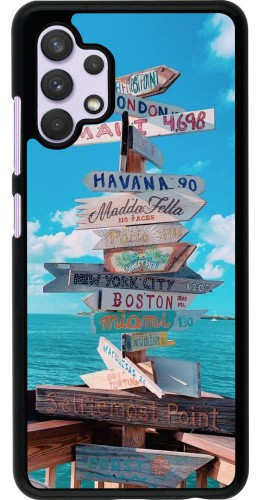 Coque Samsung Galaxy A32 - Cool Cities Directions