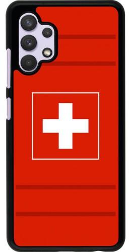 Coque Samsung Galaxy A32 - Euro 2020 Switzerland