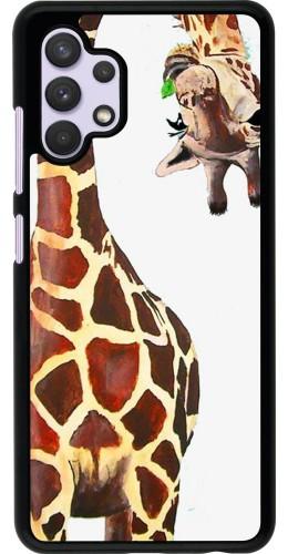 Coque Samsung Galaxy A32 - Giraffe Fit