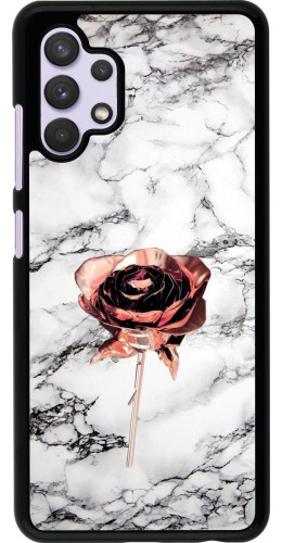 Coque Samsung Galaxy A32 - Marble Rose Gold