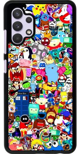 Coque Samsung Galaxy A32 - Mixed cartoons