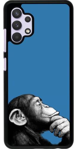 Coque Samsung Galaxy A32 - Monkey Pop Art
