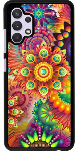 Coque Samsung Galaxy A32 - Multicolor aztec