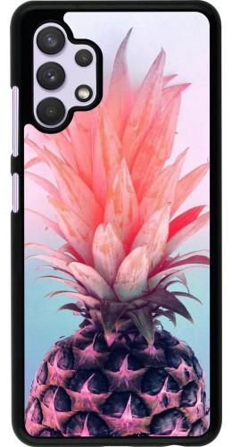 Coque Samsung Galaxy A32 - Purple Pink Pineapple