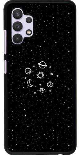 Coque Samsung Galaxy A32 - Space Doodle