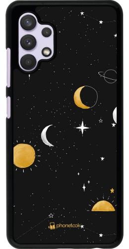 Coque Samsung Galaxy A32 - Space Vector