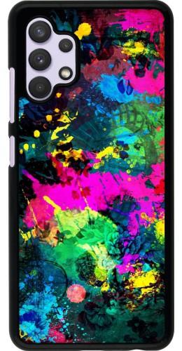 Coque Samsung Galaxy A32 - Splash paint