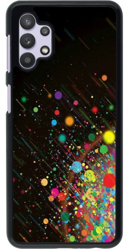 Coque Samsung Galaxy A32 5G - Abstract Bubble Lines