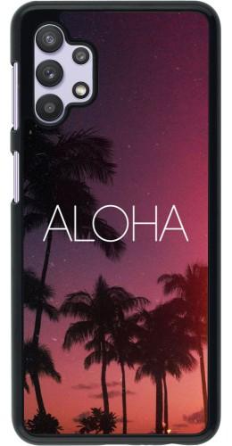 Coque Samsung Galaxy A32 5G - Aloha Sunset Palms