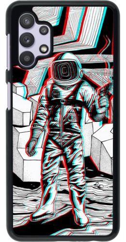 Coque Samsung Galaxy A32 5G - Anaglyph Astronaut