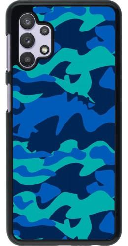 Coque Samsung Galaxy A32 5G - Camo Blue