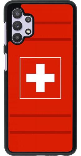 Coque Samsung Galaxy A32 5G - Euro 2020 Switzerland