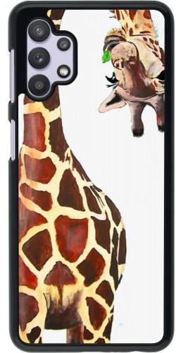 Coque Samsung Galaxy A32 5G - Giraffe Fit