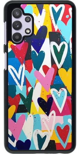 Coque Samsung Galaxy A32 5G - Joyful Hearts