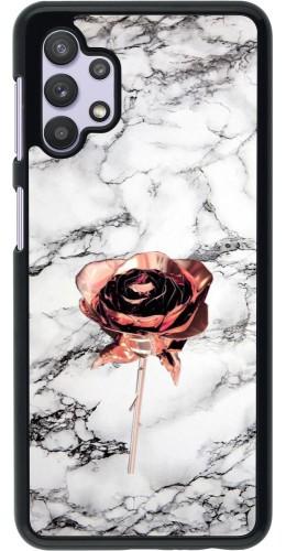 Coque Samsung Galaxy A32 5G - Marble Rose Gold