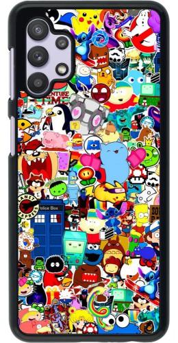 Coque Samsung Galaxy A32 5G - Mixed cartoons