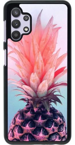 Coque Samsung Galaxy A32 5G - Purple Pink Pineapple