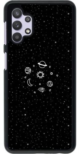 Coque Samsung Galaxy A32 5G - Space Doodle