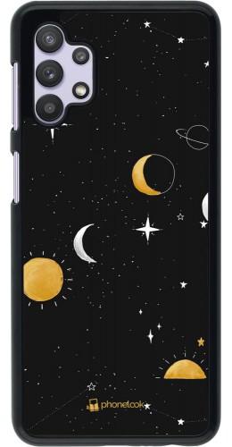 Coque Samsung Galaxy A32 5G - Space Vector